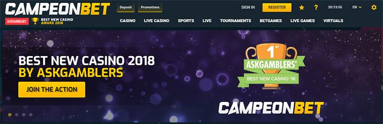 CampeonBet Casino Review