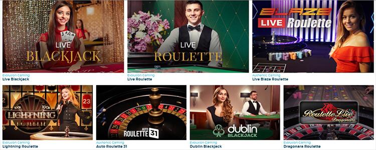 Casino Estrella Live Dealer Games
