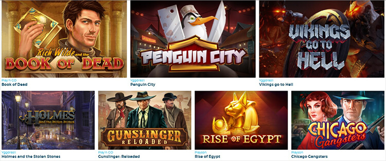 Casino Estrella Software and Game Selection
