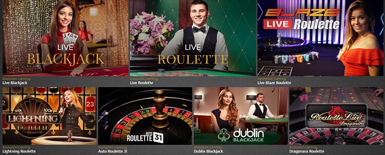 Casino Extra Live Dealer Games