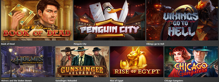 Casino Extra Software and Game Selection