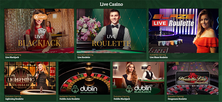 DublinBet Live Dealer Games