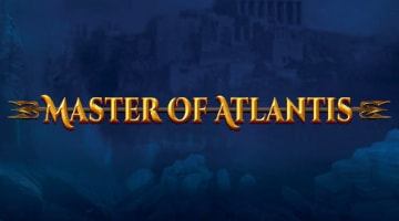 Master of Atlantis slot exclusively available at Casumo Casino