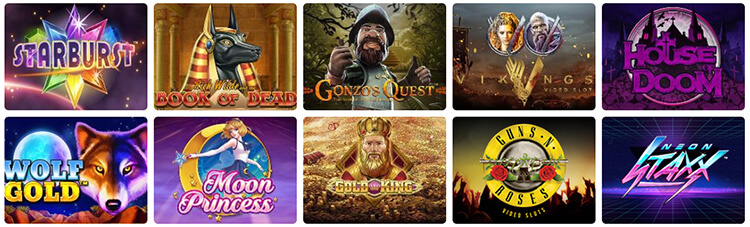 SvenBet Casino Software and Game Selection