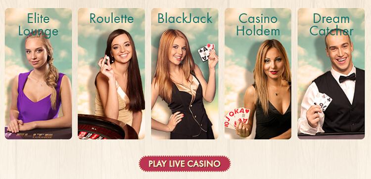 777 Casino Live Dealer Games