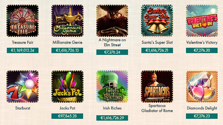 777 Casino Software and Game Selection