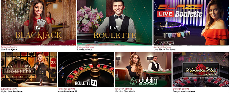Lucky31 Casino Live Dealer Games