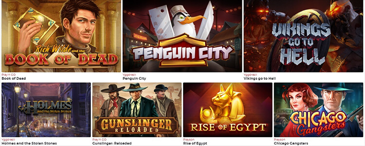Lucky31 Casino Software and Game Selection