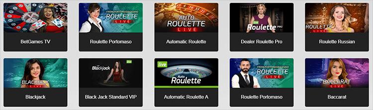 Pinnacle Casino Live Dealer Games