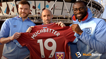 West Ham United Football Club is a new MuchBetter partner