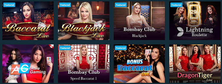 Sportsbet Casino Live Dealer Games