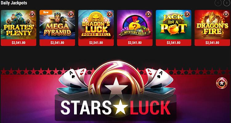 PokerStars Casino Jackpot Games