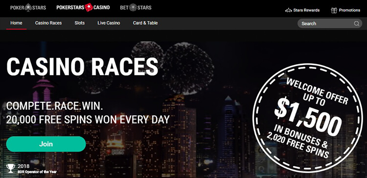 PokerStars Casino Review