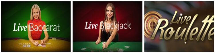 Casollo Casino Live Dealer Tables