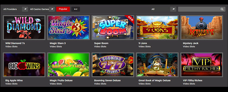 Tipbet Casino Software and Game Selection