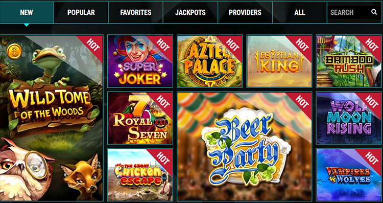 b-Bets Casino Software and Game Selection