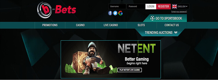 b-Bets Casino Live Dealer Games