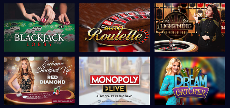 Genesis Casino Live Dealer Games