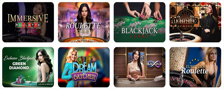 Casino Joy Live Dealer Games