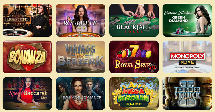 Casoola Casino Software and Game Selection