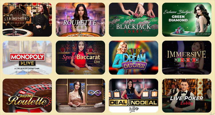 Casoola Casino Live Dealer Games