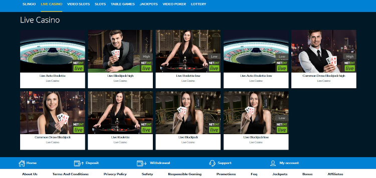 Fun Casino Live Dealer Games