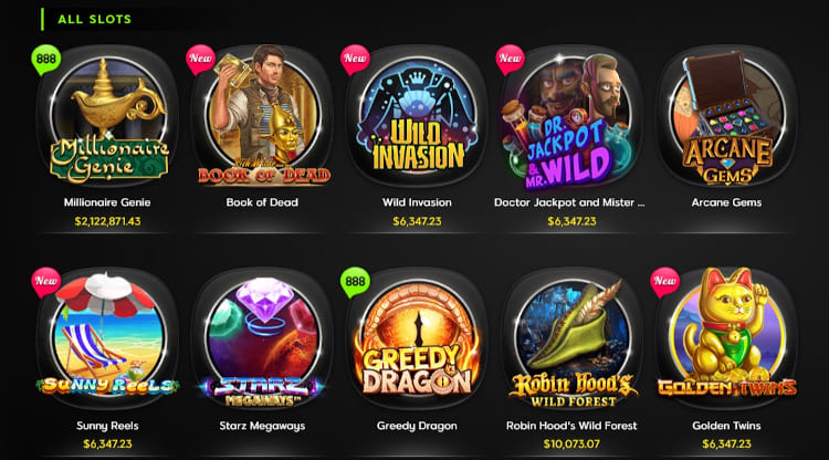 888 Casino Software and Game Selection