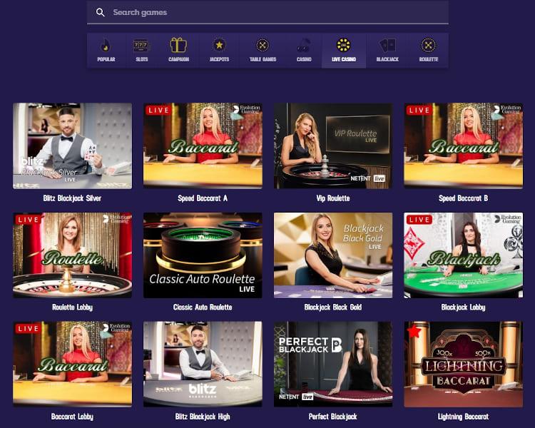 Gambola Live Dealer Games