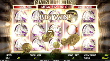 Devine Fortune Slot Big Win