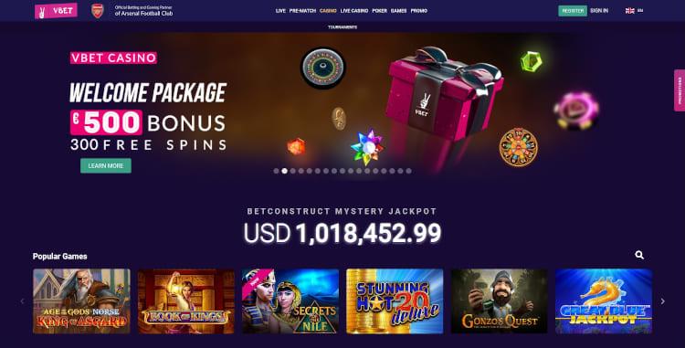 V Bet Casino Review