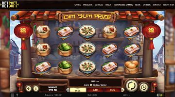 Betsoft new slot DIM SUM PRIZE