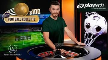 Playtech Live Football Roulette in new Let's Play studio