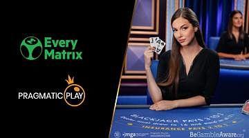 Pragmatic Play signed a deal with EveryMatrix