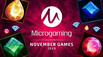 Microgaming New Slots November 2020