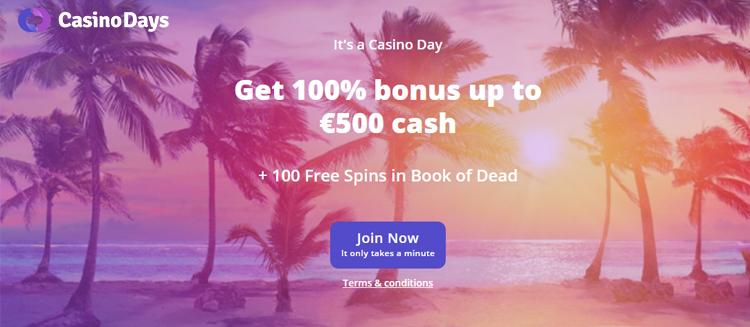 Bonus casino days