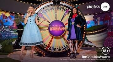 Playtech Adventures Beyond Wonderland Game Show 2020