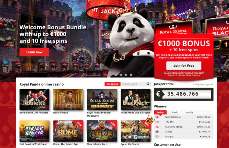 Royal Panda Bonus 2021