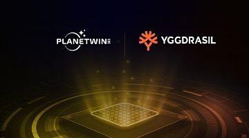 Yggdrasil Planetwin365 Partnership