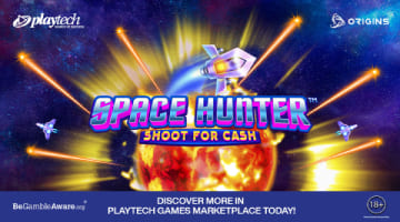 Space Hunt: Shoot for Cash adalah slot bergaya arcade shooter pertama