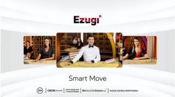 Ezugi Menghadirkan Identitas Merek Baru yang Disebut Smart Move