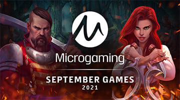 Microgaming game September 2021